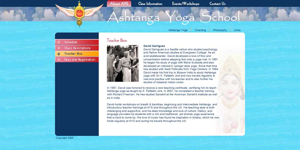 Ashtanga Yoga School