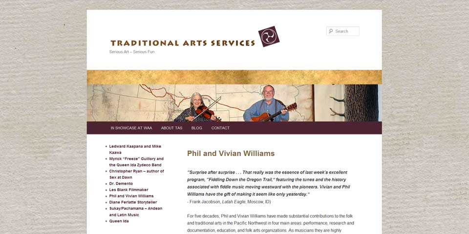Traditional Arts Services